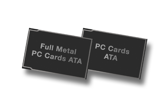 Produkt Bild PC Cards und Full Metal PC Cards